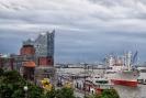 Elbphilharmonie bei Regen